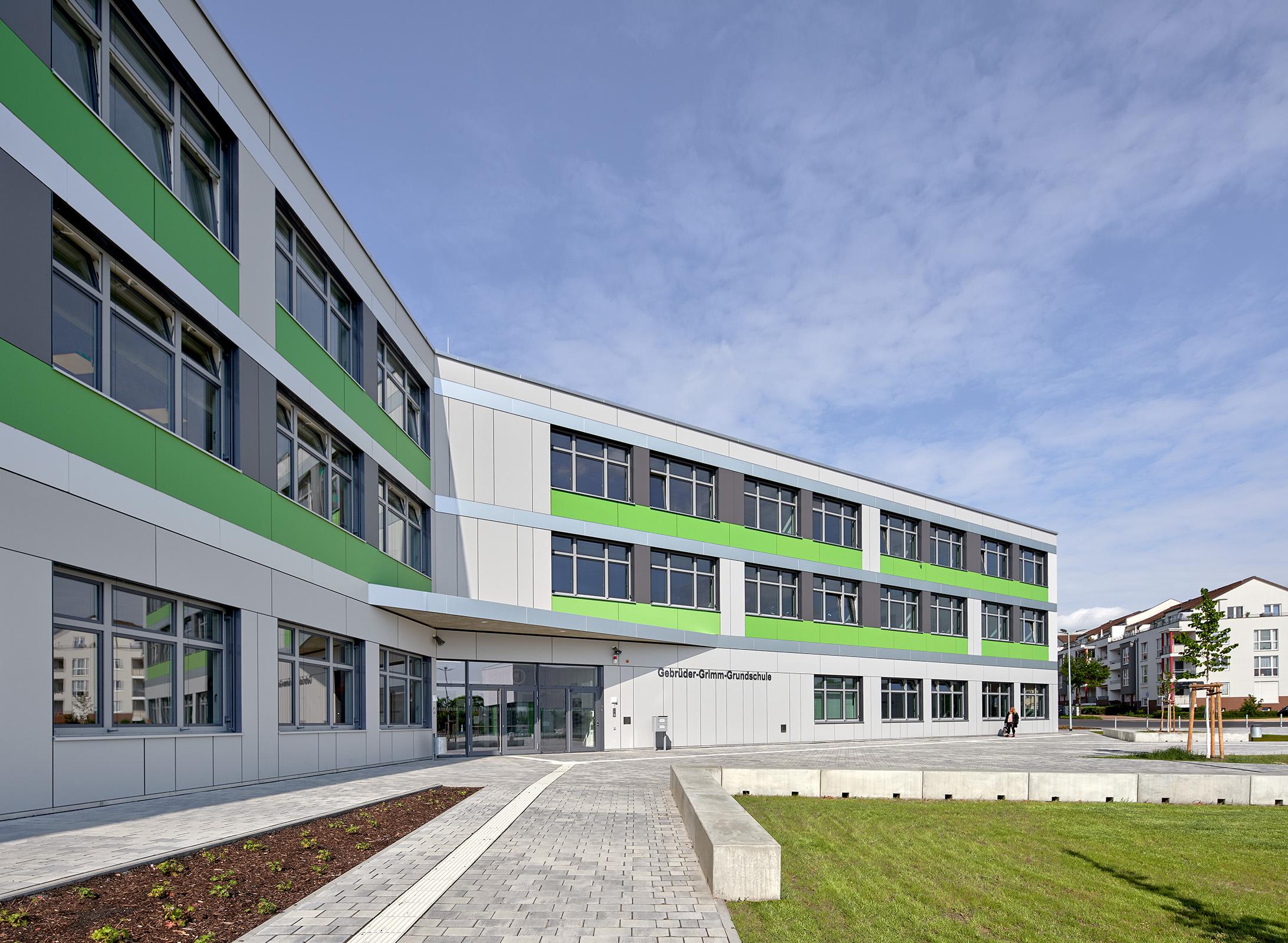 Gebrüder Grimm Grundschule in Berlin Hoppegarten, OT Hönow // hks architekten