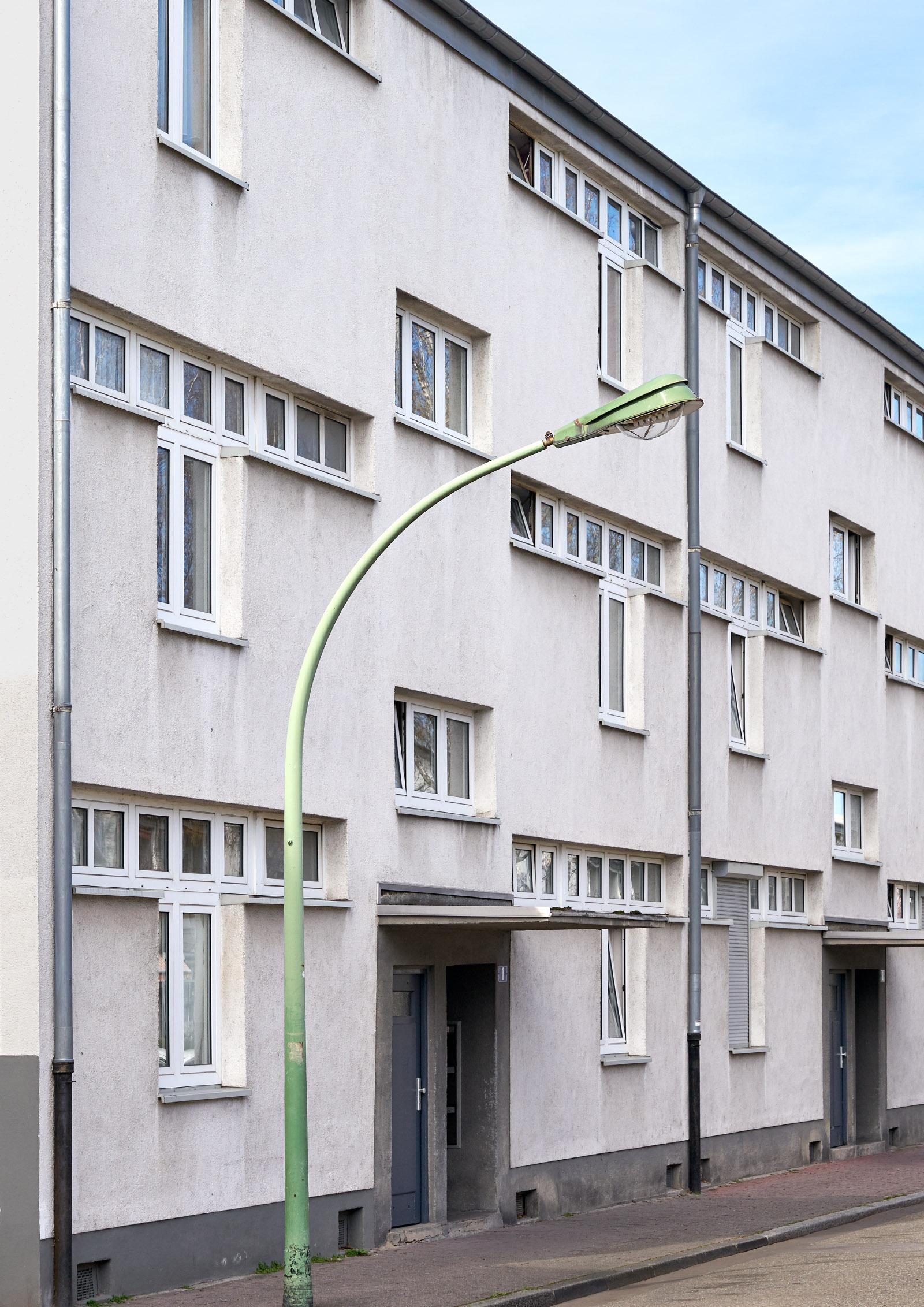 Hornauer Straße, Hellerhofsiedlung